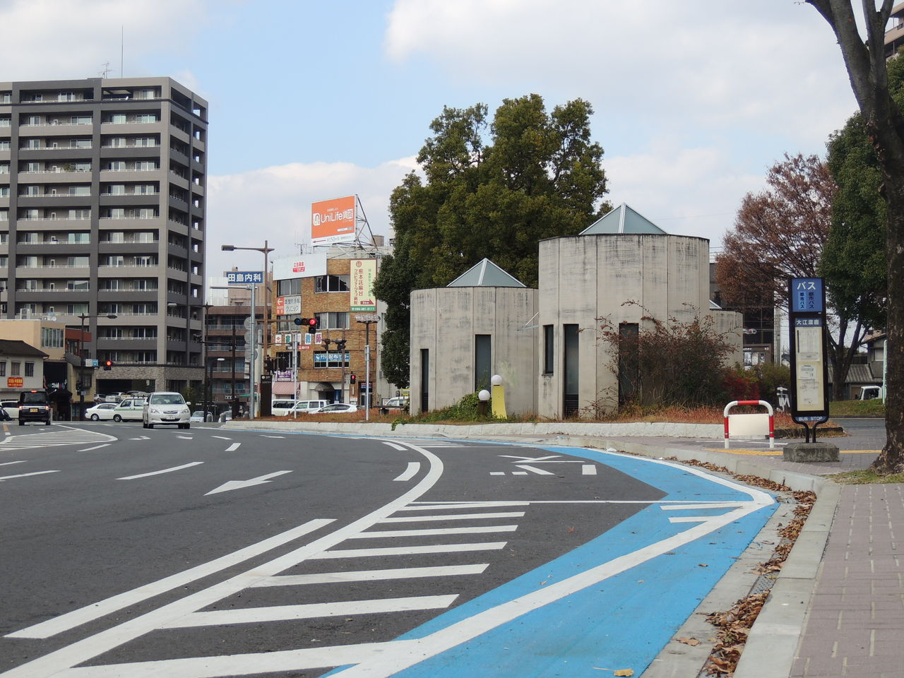 熊本初の自転車レーン : b_8chの ...
