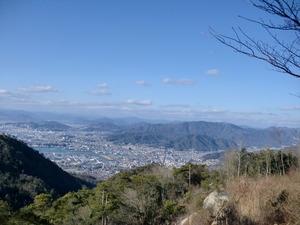 絵下山から広島市内
