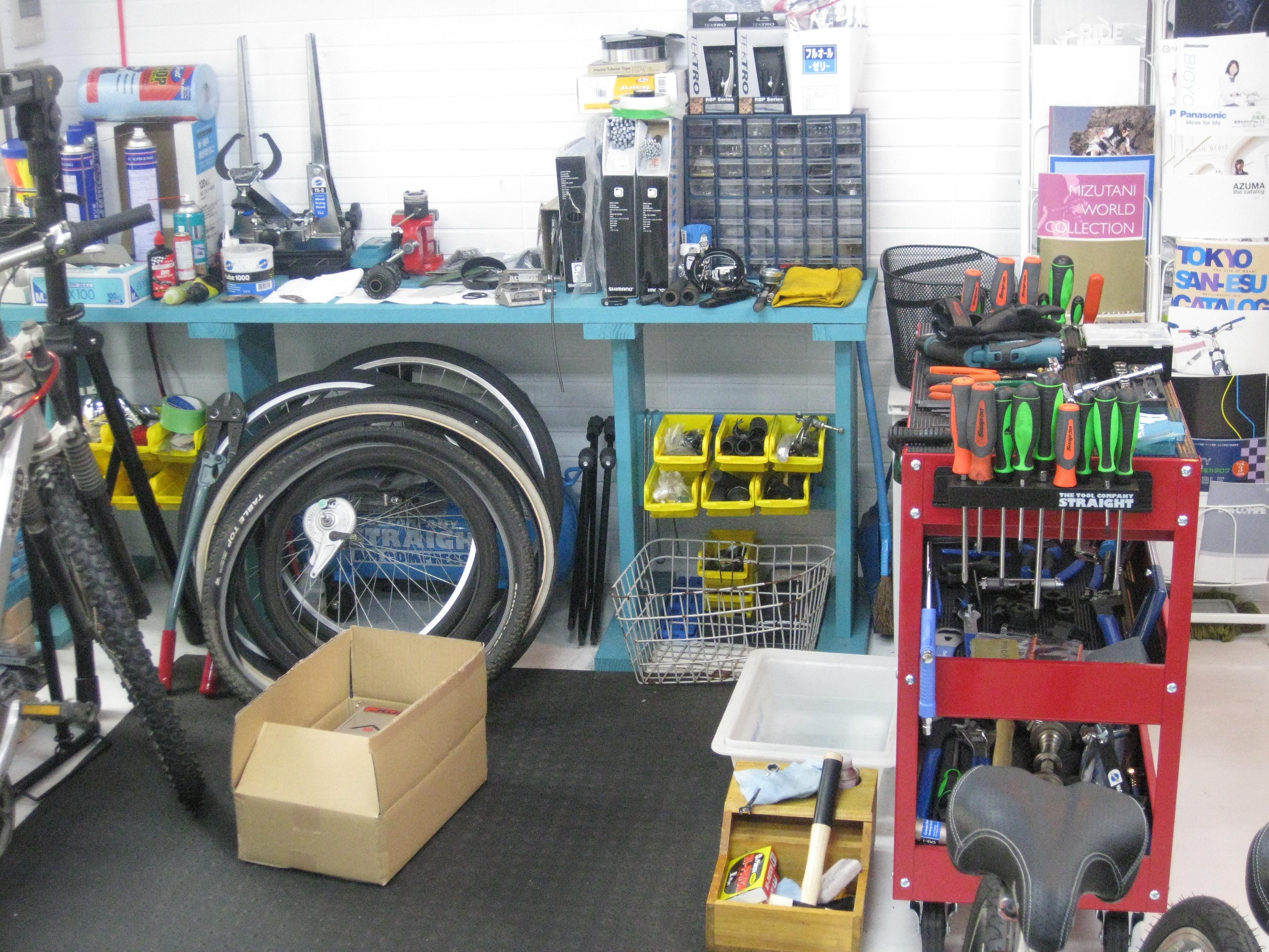 自転車の 自転車 修理 福岡市中央区 : BICYCLE SHOP RUSH : 西新