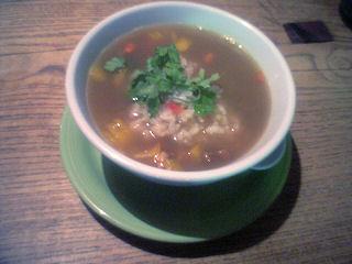 スープカレー茶漬
