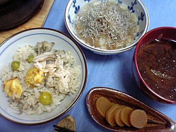 秋の日曜日の昼食