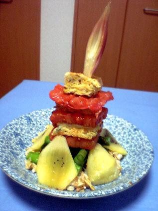 炎上する忘却のトマトタワー