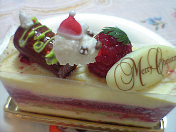 ムッシュマキノクリスマスケーキ2