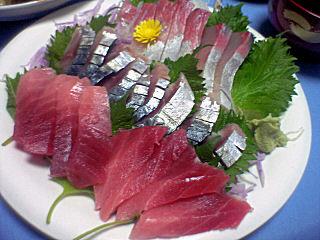 青背魚3種盛り