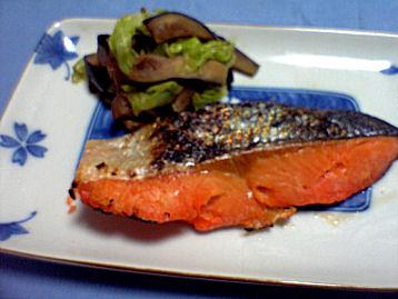 鮭粕漬け焼