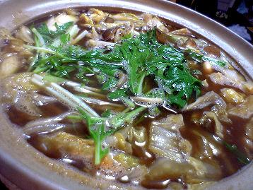 地鶏八丁味噌鍋