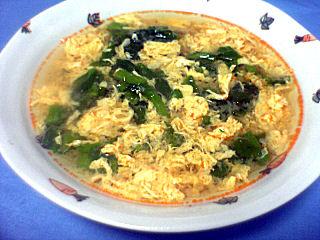 辛くて酸っぱい中華スープ