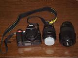 一眼レフ(Nikon D40X)
