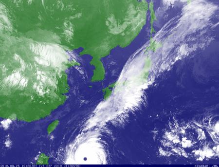 2018.9.25台風24号10.30