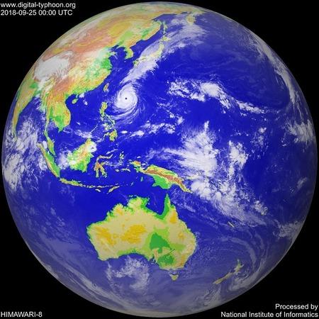 2018.9.25台風