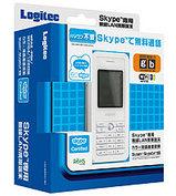 ロジテック LAN-WSPH01WH Skype専用 無線LAN携帯端末