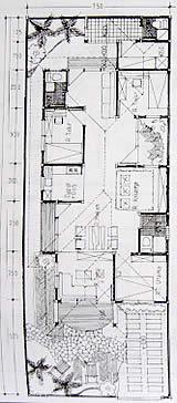 バリの家設計図(間取り)