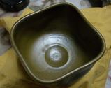 四角い茶碗