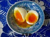 素材 半熟卵