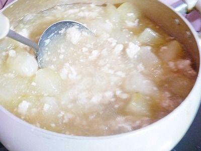 鶏ミンチと冬瓜の煮物 (8)