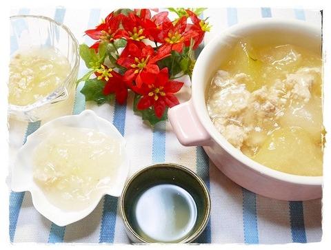 鶏ミンチと冬瓜の煮物 (13)