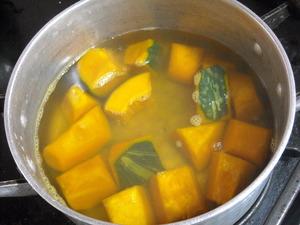かぼちゃ煮方