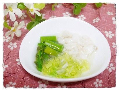 2014年6月16日夕食 たらの蒸し野菜バター風味 (7)