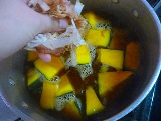 かぼちゃの含め煮1