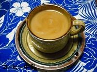 素材 コーヒー牛乳