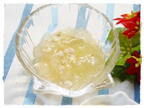 鶏ミンチと冬瓜の煮物 (15)