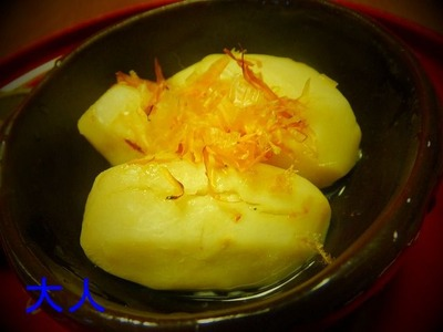 小芋のあっさり煮