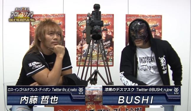 内藤哲也&BUSHIのキンプロ動画の再生回数とコメント数がエグい!