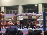 全日本、3・23大阪・四条畷大会!CC前哨戦対決を征したボディガー、ゼウスとの決勝対決を誓う!