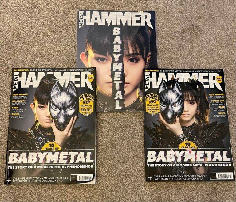 【海外】ようやくMetal Hammerをコンプリートした
