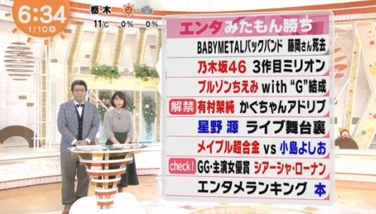 BABYMETAL「今週のベビメタ動画集」