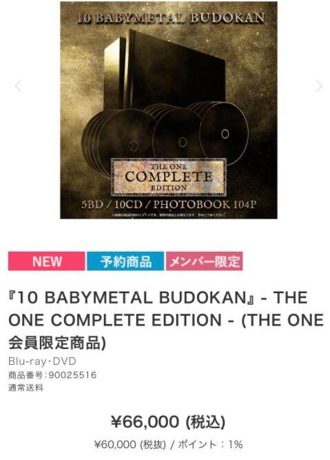 BABYMETAL「ベビメタツイート集:66000円」