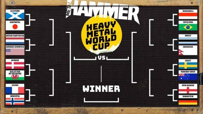 四年振りに『Metal Hammer』の「HeavyMetalWorldCup」が開幕