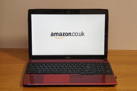 AmazonUKonLaptop