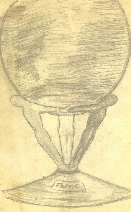 画伯 Pete Ham - Peace Globe