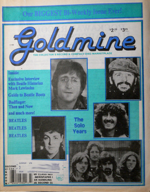 Goldmine #243 Nov 17, 1989