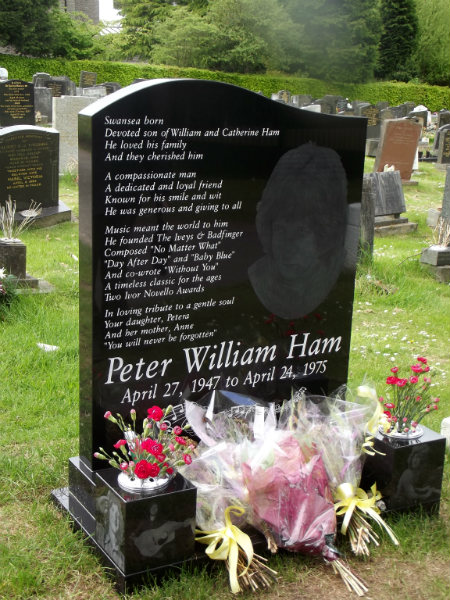 Peter William Ham (April 27, 1947 - April 24, 1975)