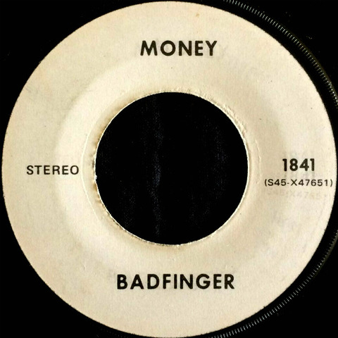 Badfinger Test Pressing 1841 Money