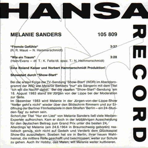 Melanie Sanders i