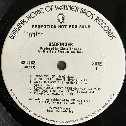 Badfinger US promo r1