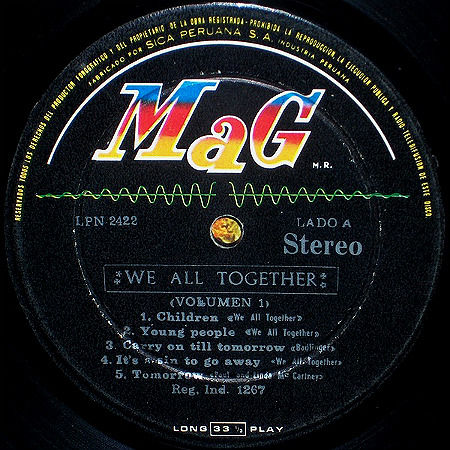 We All Together MaG LP r1b