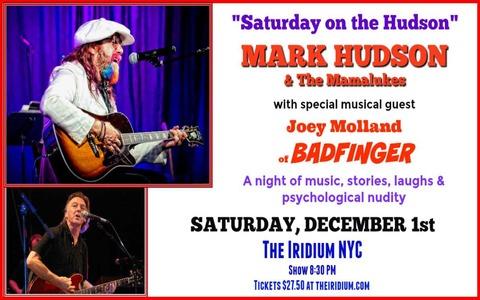 Mark Hudson December 1, 2018