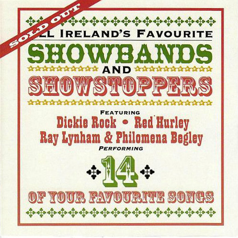 Dickie Rock Showbands and Showstoppers CD