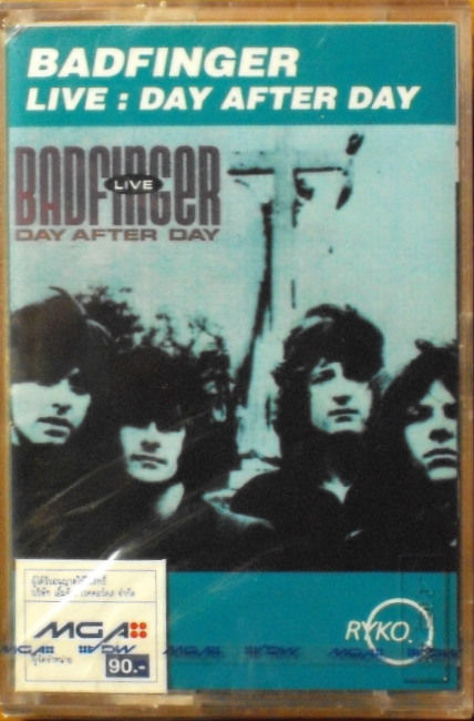 Badfinger Live Day After Day Thai Cassette a
