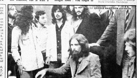 NME (June 9, 1973) Apple Studios