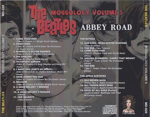 The Beatles - Moggology 5 back