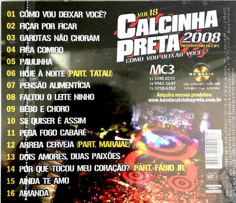 Calcinha Preta - CD 18 b 16 songs