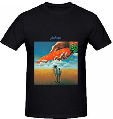 Badfinger Ass Mens Round Neck Music T-shirt