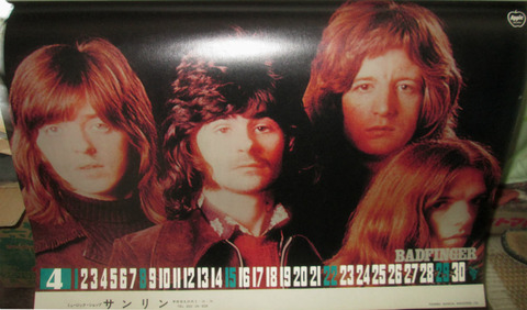Toshiba '73 Rock Calendar - April - Badfinger
