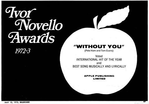 Billboard 1973年5月12日 P47