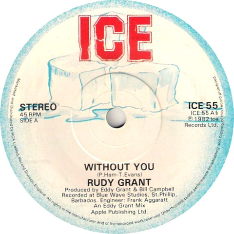 Rudy Grant - Without You ICE 55 r1